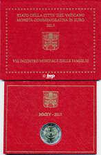 Original Vaticano Moneda Conmemorativa 2015 Día Mundial De La Familia