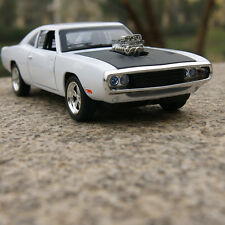 1970 DODGE CHARGER 1:32 MUSCLE Car Model Alloy Diecast THE FAST & FURIOUS White