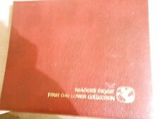 Great Collectible READER'S DIGEST FIRST DAY COVER COLLECTION 1978 with COA