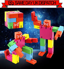 Nuevo Micro Cubebot cerebro Teaser Puzzle puzzleman Jigsaw Transformador [rainbow]
