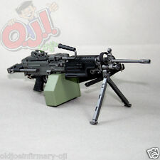 "Dragon Models M249 LMG SAW with Retractable Stock for 12"" Figures 1:6 (5011g41)"