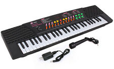 54 Keys Music Electronic Keyboard Kid Piano Organ Record Playback w/Mic& Adaptor