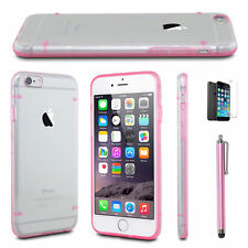 iPhone 6 & iPhone 6s Shockproof Rugged Case,Charging cable,Screen protector,Pink