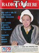 RADIOCORRIERE TV 17 1965 Grace Kelly Yoko Tani Ombretta Colli Wanda Osiris
