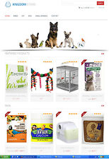 Pet Care Products Store Website - eCommerce + Amazon Affiliate