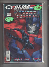 G.I.JOE VS TRANSFORMERS #1-6 SET