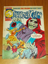 THUNDERCATS #58 23RD APRIL 1988 BRITISH WEEKLY FREE POSTER GIFT INCLUDED