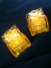 Pair of Veuve Clicquot Champagne Flashing Ornamental Plastic Ice Cubes