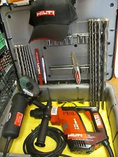 HILTI TE 5 DRILL, EXCELLENT CONDITION, FREE ANGLE GRINDER & EXTRAS, FAST SHIP