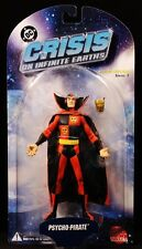 """2005 DC DIRECT CRISIS ON INFINITE EARTHS SERIES 1 PSYCHO-PIRATE 6"""" FIGURE MOC"""
