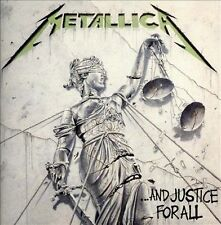 Metallica ...And Justice for All CD Megadeath Iron Maiden Alice In Chains