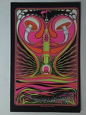 Mainline Love Blacklight Poster Pin-up Print Celestial Odyssey Double Sided UV