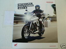 H294 BROCHURE HONDA SPECIAL EDITIONS 2013 DUTCH 12 PAGES VFR1200X CROSSTOURER