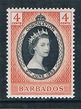 Barbados 1953 Coronation SG 302 MNH