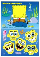 MRE * SpongeBob SquarePants Reusable Sticker Book #2 from Mc Donald's