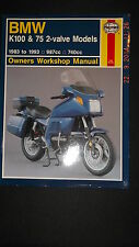 BMW K100 and K75 1983-93 Owners Workshop Manual