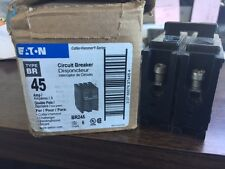 1 NEW EATON CUTLER HAMMER BR245 C245 2 Pole 45 AMP BR Breaker **MAKE OFFER**