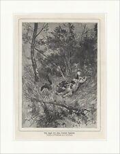 Jagd mit dem Cocker Spaniel Waldschnepfe Unterhölz E.Bellecroix  Waidmann 0060