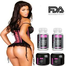 Brand New 2 Booty CREAM + PILLS Butt Enlargement Enhancement Buttocks Capsules