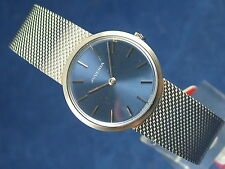 Vintage Juvenia NOS Swiss Gents Dress Watch Mechanical Wind Up 1960s or 70's