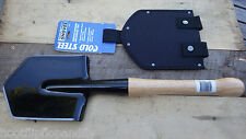 SPECIAL FORCES COLD STEEL OUTDOOR SURVIVAL SHOVEL & SHEATH BUSHCRAFT SHARPENED