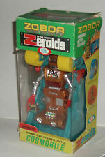 1969 Ideal Zeroids Robot ZOBOR in Cardboard Box