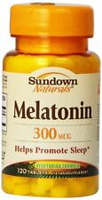 Sundown Melatonin 3mg Bonus Tablet 120ct