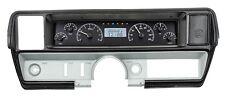 1968-69 Buick Skylark Dakota Digital Black Alloy & White VHX Gauge Dash Kit