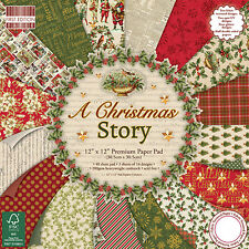 "First Edition 'A Christmas Story' 12"" x 12"" FSC Paper Pad FULL PAD"