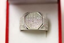 925 sterling silver sparkling men's ring *Boxed*