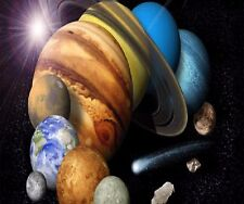 PLANETS GALAXY SPACE SOLAR SYSTEM COMPUTER MOUSE PAD  9 X 7