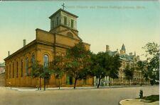 Detroit, MI The Jesuit Church and Detroit College
