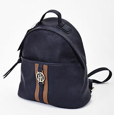 TOMMY HILFIGER RUCKSACK HANDTASCHE | WOMEN'S BACKPACK | BLAU | NEW SEASON