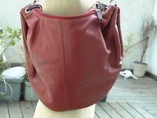 Ralph Lauren U.S sac à main foure tout cuir rouge état neuf