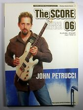 JOHN PETRUCCI DREAM THEATER GUITAR SCORE JAPAN TAB