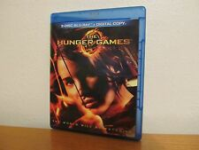 THE HUNGER GAMES Blu Ray 2 Disc Set + UV Code - I combine shipping