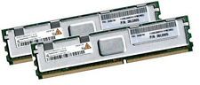 2x 2GB 4GB RAM IBM IntelliStation Z Pro 9228 667Mhz FBDIMM DDR2 FullyBuffered