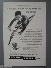 R&L Ex-Mag Advert: Sturmey Archer Gear Bike / Bayko House Building Models