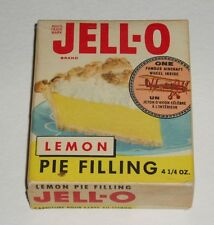 1960's JELLO Box w/ Airplane Trading Coin offer hostess