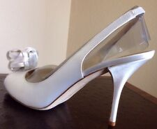 New KATE SPADE Size 11 M Satin/Leather Shoes. Italy. Туфли Италия