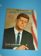 THE STORY OF JOHN F. KENNEDY, by  EARL SCHENCK MIERS.1964