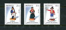 Monaco  1991  #1766-8  figurines from Provence   3v.  MNH  E334