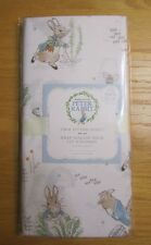 New Pottery Barn Kids Beatrix Potter Peter Rabbit Crib Fitted Sheet ORGANIC COTN