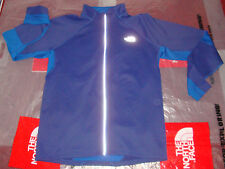 NWT The North Face Mens Momentum Thermal Full Zip Running Jacket Medium $99 Blue