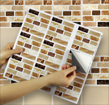 "9 Tile Transfer Stickers 4"" x 4"" ONYX TABLET for Kitchen & Bathroom tiles"