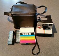 Vintage Polaroid One Step SX-70 Land Camera Instant Rainbow Untested w/Case!