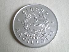 PEU COURANT MIROIR PUB ANCIEN CIRQUE ANCILLOTTI 1924