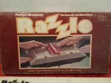 Vintage Board Game - RAZZLE by Parker Brothers 1981 - 100% Complete