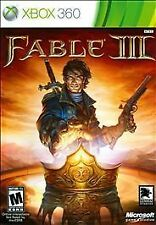 XBOX 360 Fable III Video Game Multiplayer 3 1080p HD Online Fantasy COMPLETE