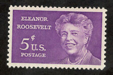 1236 Eleanor Roosevelt US Single Mint/nh (Free shipping offer)